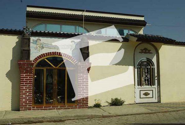 Las casas de 'El Vieja' fueron vandalizadas tras quedar pendiente el pago de 'Escudos' humanos. Foto: Eduardo Jiménez