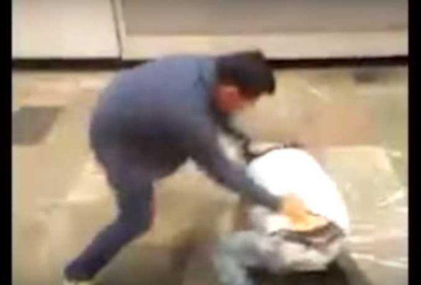 metro pelea