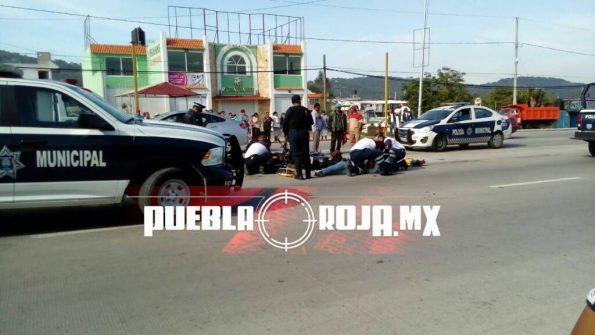 accidente en la federal a Tehuacán (1)