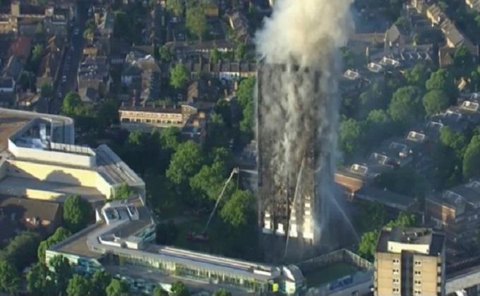 incendio Londres