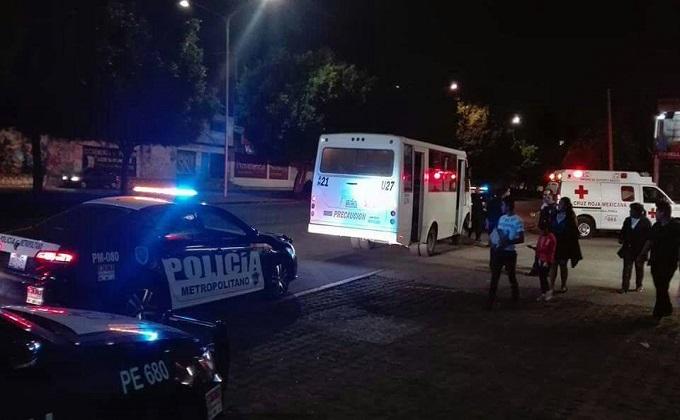Con arma blanca asaltan a pasajeros de la ruta 21; una mujer presentó crisis nerviosa