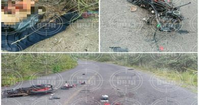 motociclista muerto en accidente