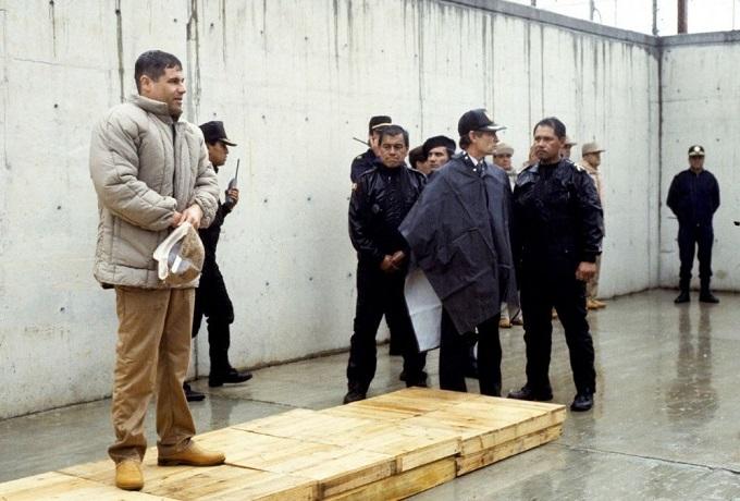 El Chapo cuando fue detenido la primera vez.
