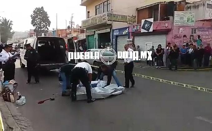 mujer atropellada