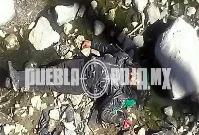 cadaver motociclista