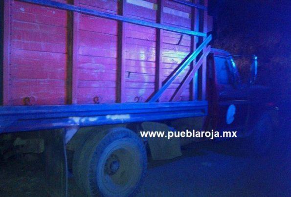 camioneta huachicol