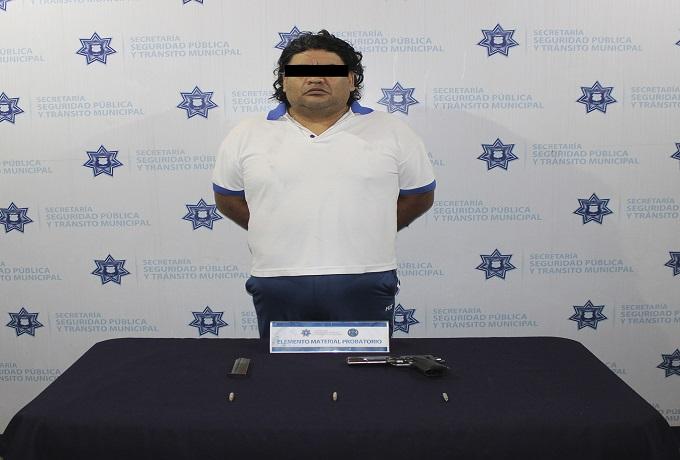 detenido armado