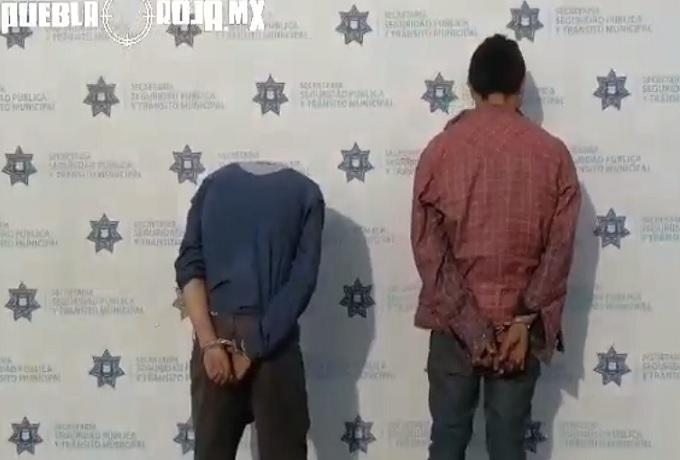 asaltantes detenidos