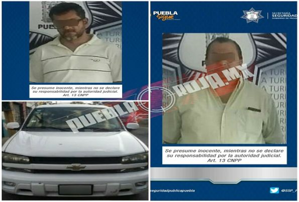 presuntos ladrones autopartes