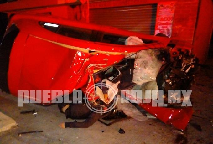 accidente federal a Tehuacan