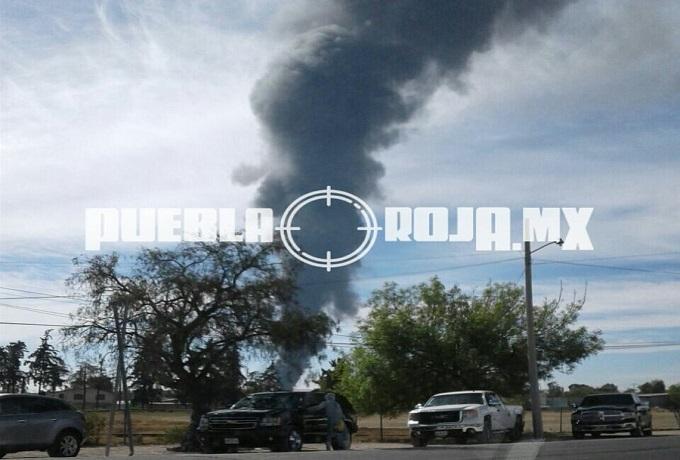explosión Acozac toma gasolina