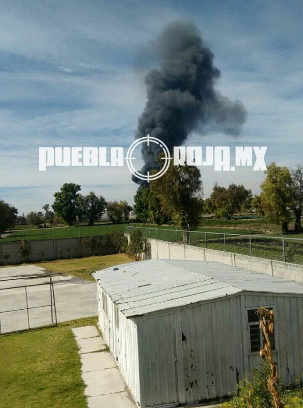 explosión Actipan de Morelos