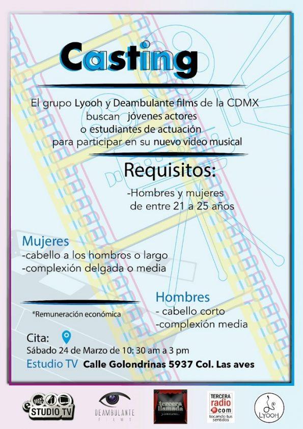 aviso clasificado casting
