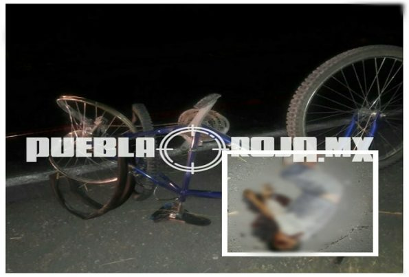 ciclista muerto