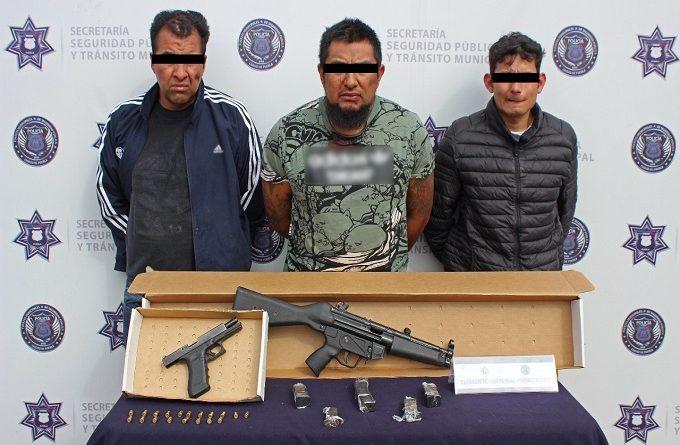 Caen tres personas por matar a un hombre en el Centro Histórico de Puebla