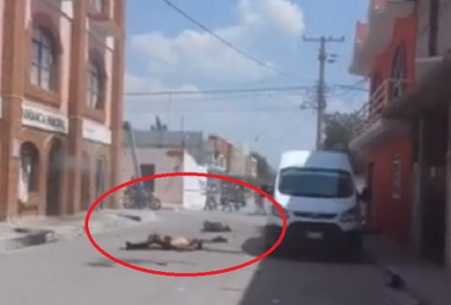 Foto de los cuatro linchados en Yehualtepec en abril del 2018