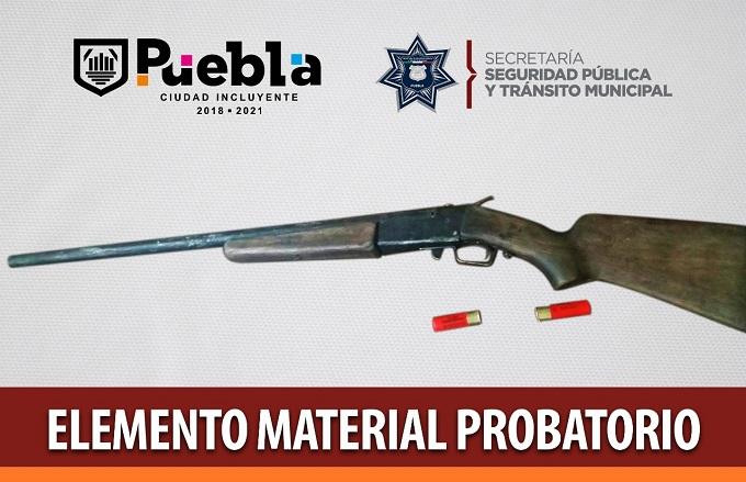 arma secuestro