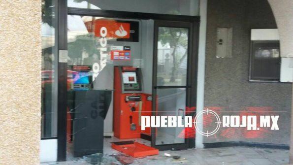 Robo cajero Santander 2