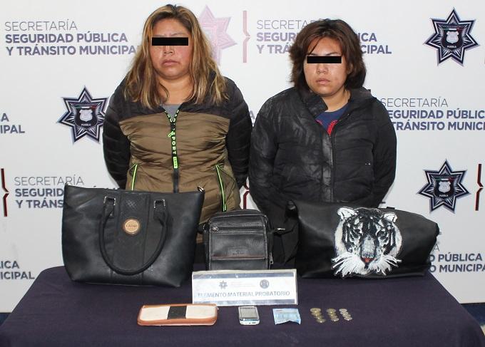 mujeres asaltantes