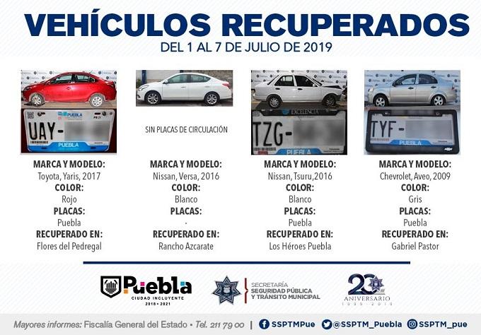 VEHÍCULOS CON REPORTE DE ROBO 1