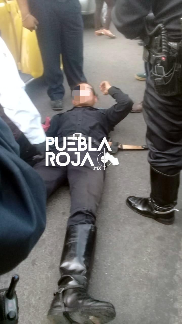 Policia baleado